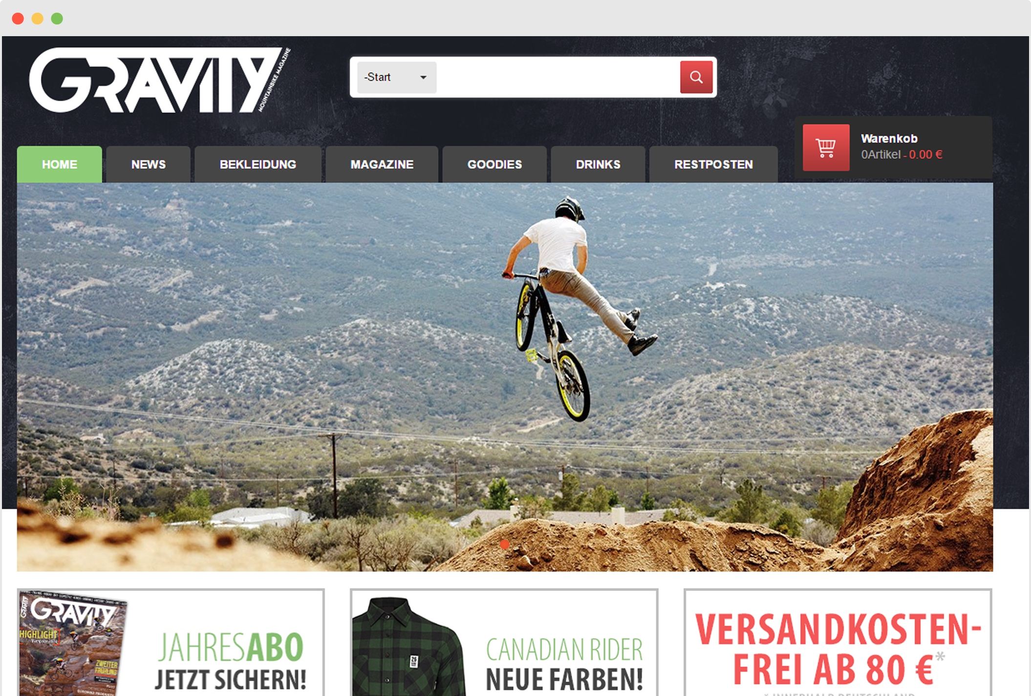 Gravity Mountainbike Magazine